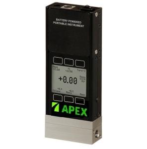 Battery Powered Mass Flow Meter