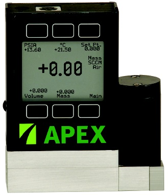 TFT version of apex mass flow controller