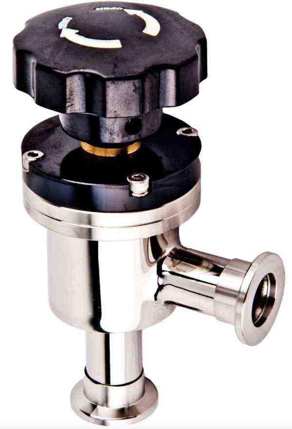 High vacuum valve