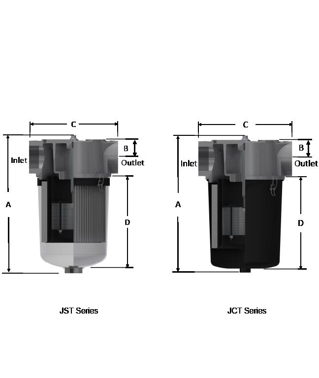 Vapor vacuum filter drawing