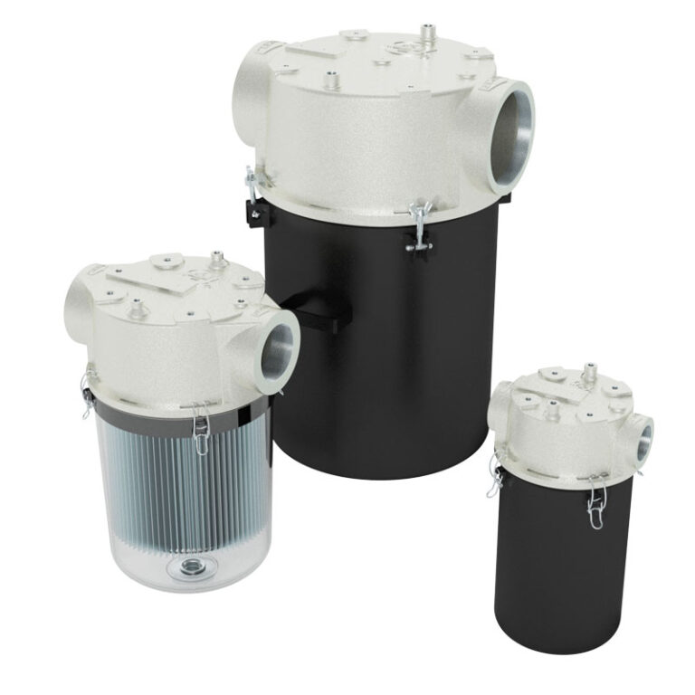 Vapor vacuum filter