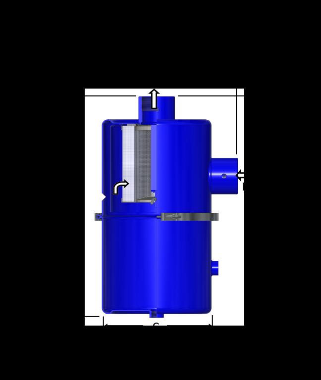 Vacuum Medical Filter