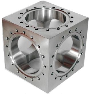 6-Way Cube CF Flanged