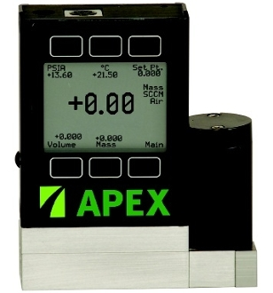 Apex Aggressive Gas Mass Flow Controller