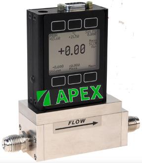 Apex Mass Flow Controllers Vacuum Semi-Complaint