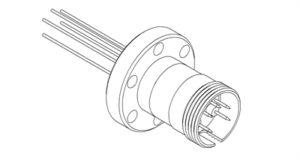 Multipin, 5-Pin, CF16, 500V