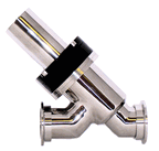 Pneumatic Angle Inline NW Flanged