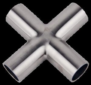 Weldable 4-Way Cross