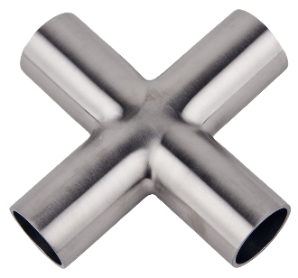 Weldable 4-Way Cross