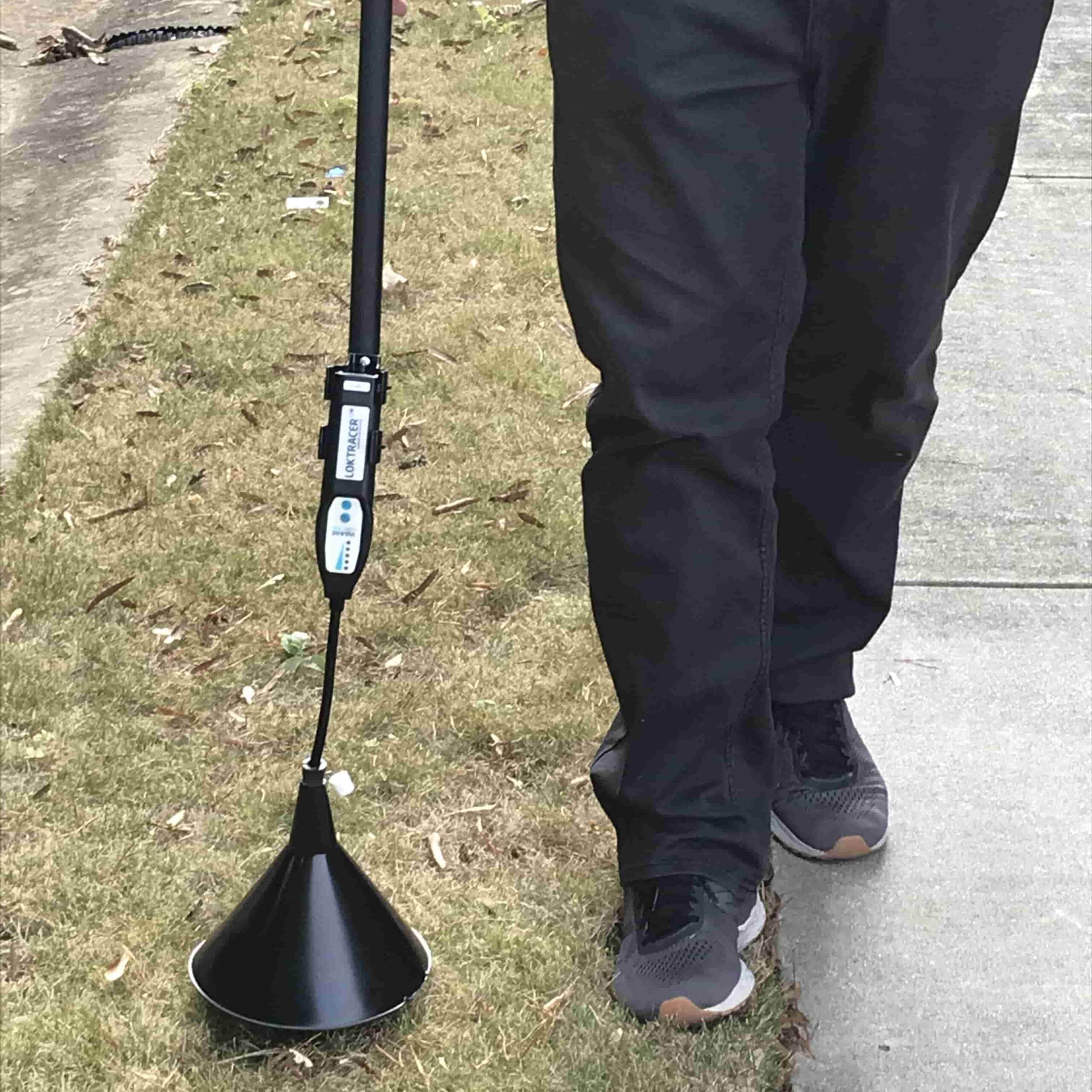 subsurface water line leak detection for underground pipe leaks