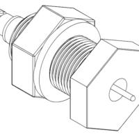 Coaxial Baseplate Feedthrough