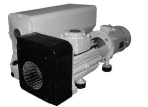 single stage rotary vane pump sogevac